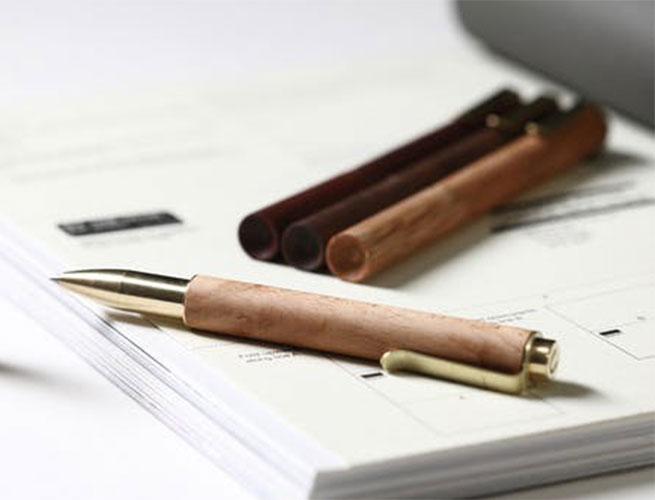 wooden pen Rosewood Retro RLDH walnut