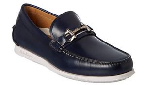 Salvatore Ferragamo Faro Leather Boat Shoe