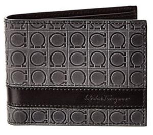 Salvatore Ferragamo Foster US Leather Bifold Wallet