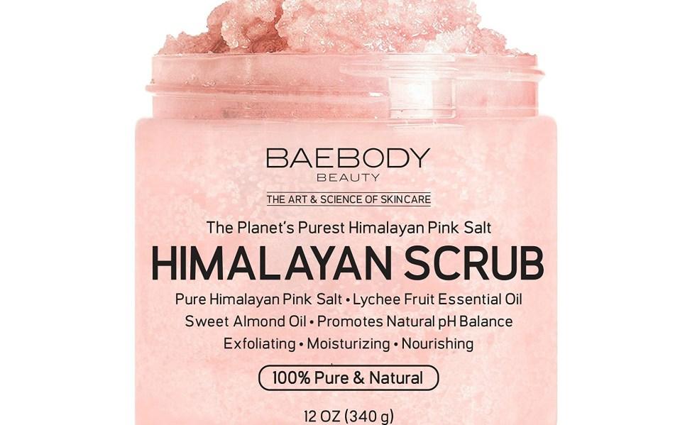 This Himalayan Salt Scrub by Baebody