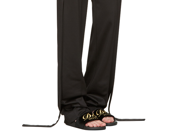Shower shoes Dolce Gabbana Luxury Hotel