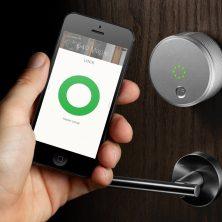 august smart home lock