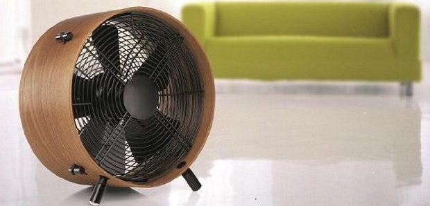 Wood circular fan from Stadler Form