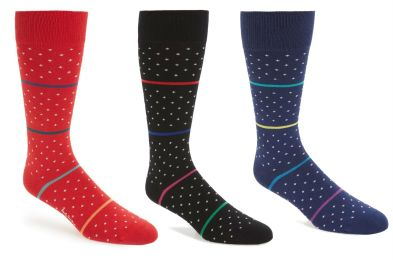 Stripe Dot Socks PAUL SMITH