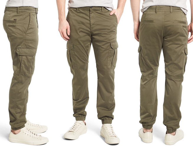 An Updated Cargo Pant From Boss