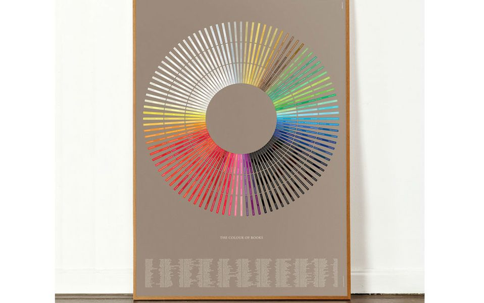 The Colour of Books by Fab