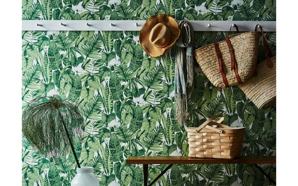 This Tropical Wallpaper Will Refresh Your
