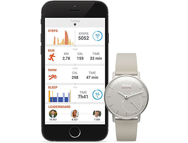 withings watch activite pop sleep and