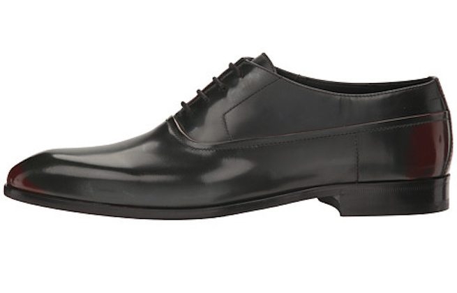 leather derby shoes hugo boss