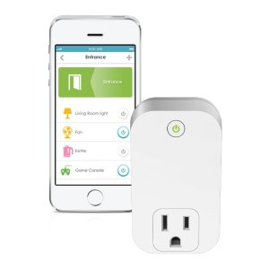 D-Link Smart Plug, Wi-Fi, On/Off, Works with Amazon Alexa (DSP-W110)