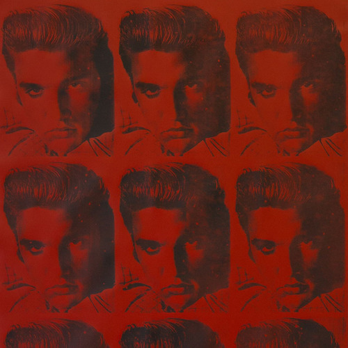 Andy Warhol x Flavor Paper Elvi Wallpaper