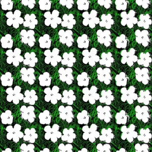 Andy Warhol x Flavor Paper Small Flowers Wallpaper on EZ Papes (1)