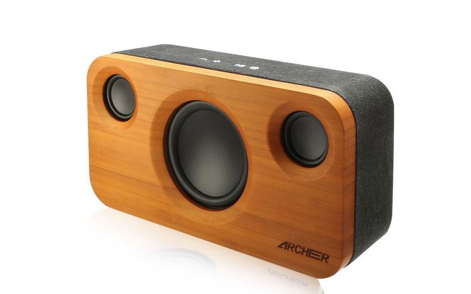 best bluetooth speaker Archeer Bamboo A320