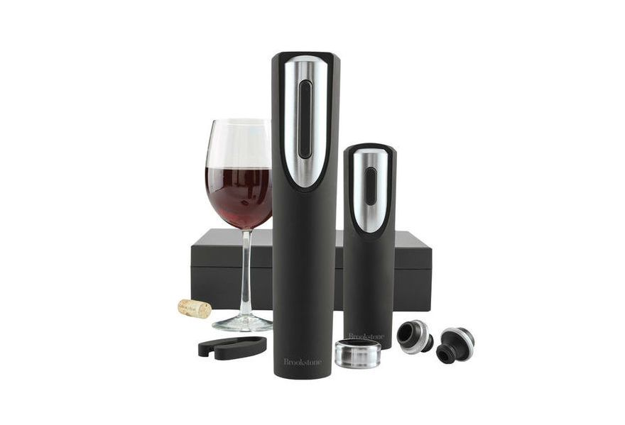 This Wine Opener by Brookstone Removes