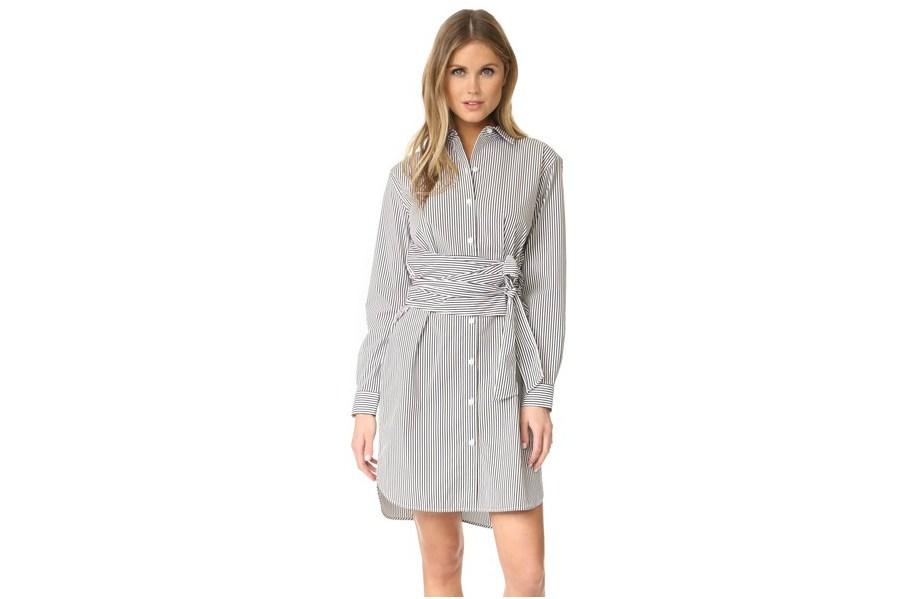 The Striped Shirt Dress: A Warm-Weather
