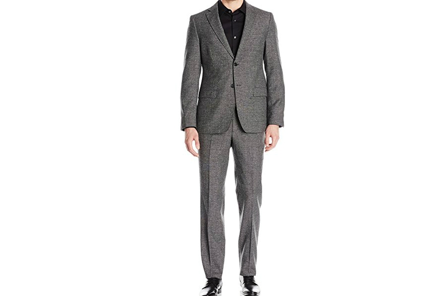 DKNY's Slim Fit, Two-button Suit is
