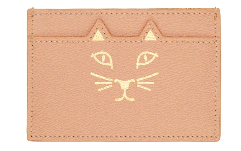 Charlotte Olympia Cat Card Holder Features