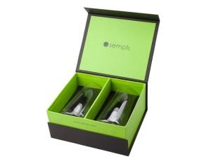 Sempli Monti-Birra Beer Glasses Gift Box