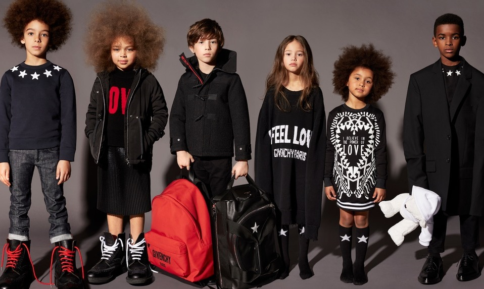 Givenchy to Launch Children's Clothing Collection