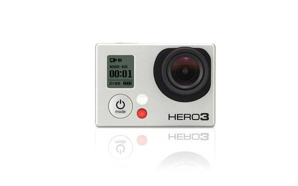 The Go-Anywhere GoPro Hero 3 Silver
