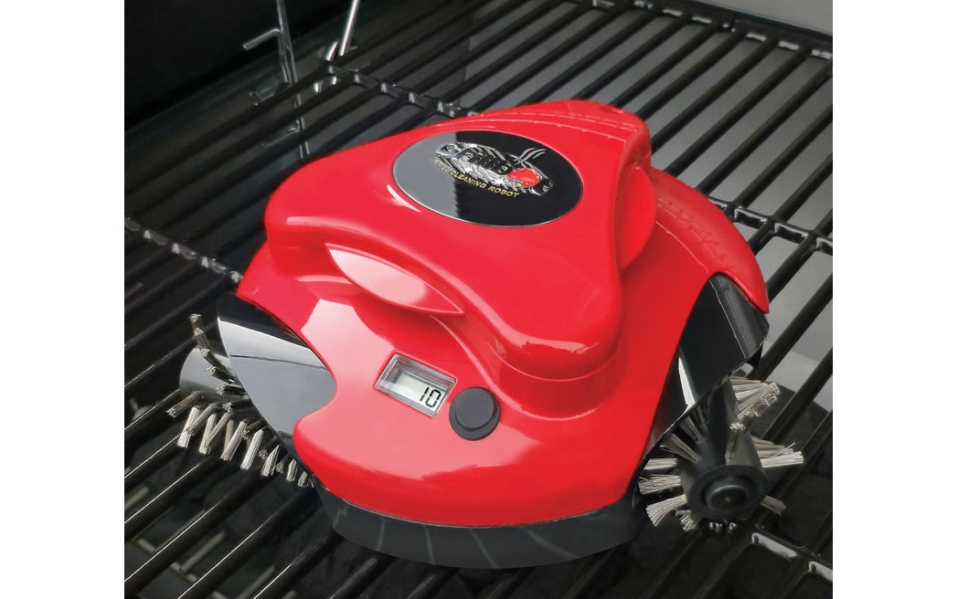 The Grillbot Grill Cleaning Robot Takes