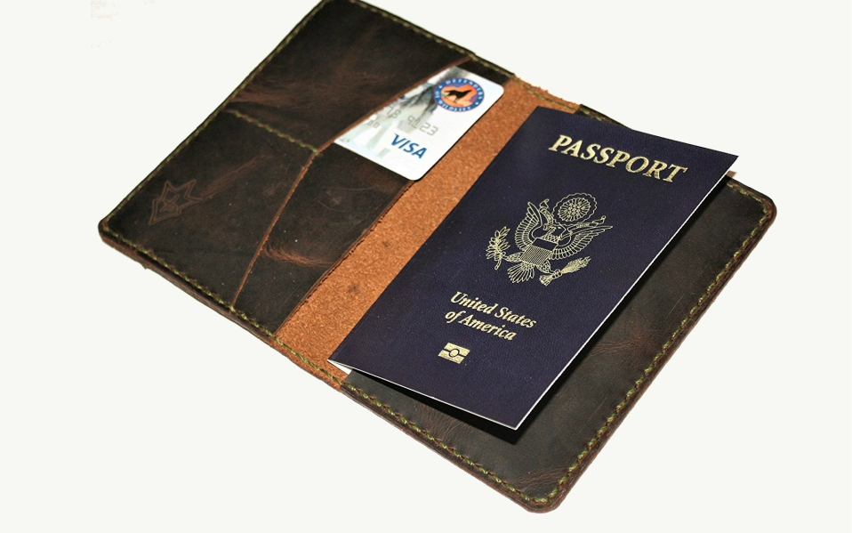 This Leather Passport Holder is The