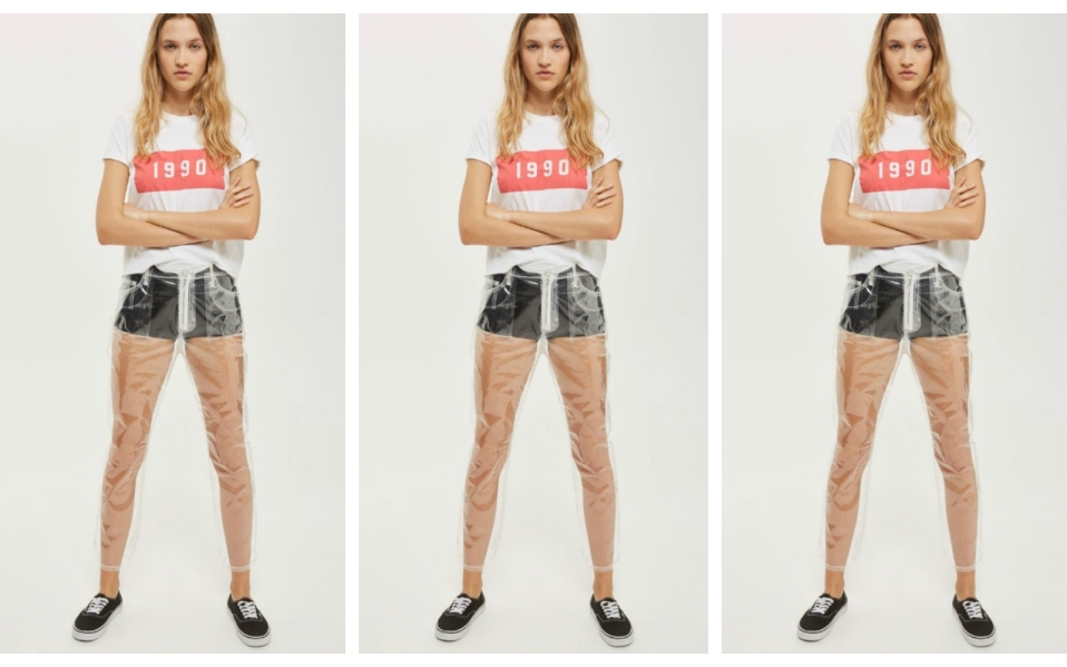 Topshop's Plastic Pants Are The New