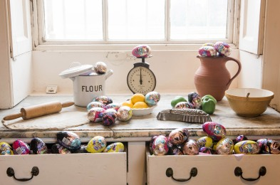 National Trust hides 21.5 tonnes of chocolate eggs this Easter, Britain - 27 Mar 2015