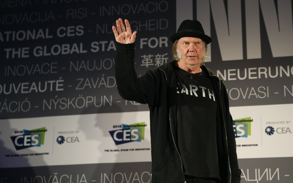 Neil Young Launches Streaming Service Xstream