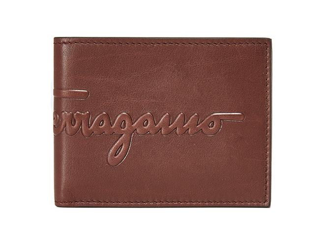Salvatore Ferragamo's Debossed Wallet is The