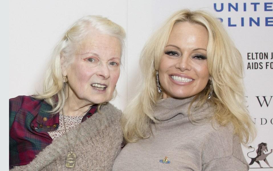 Vivienne Westwood Pamela Anderson