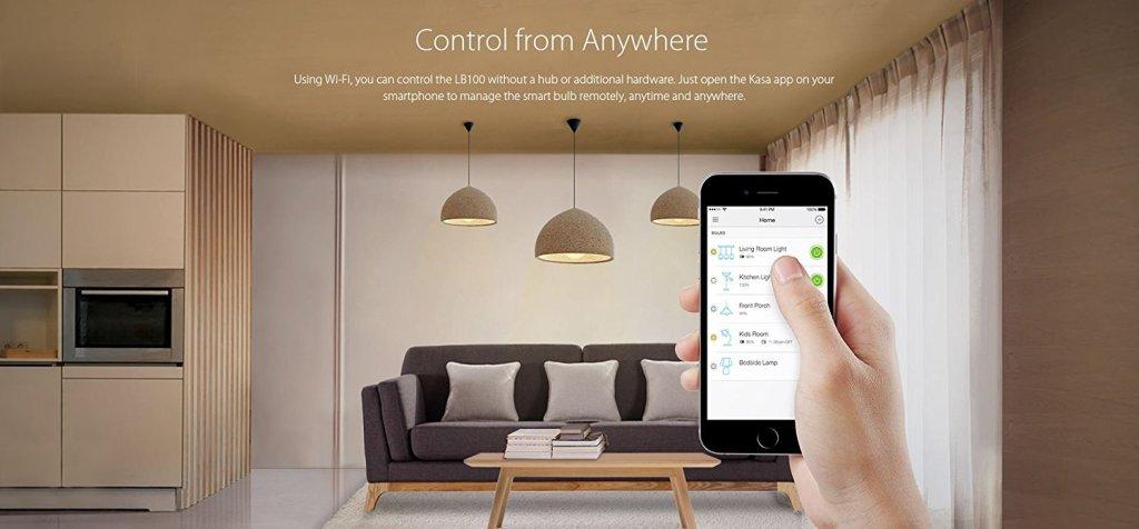 tp link wifi smart led light bulb alexa kasa app