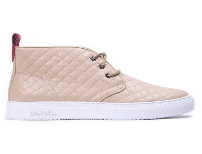 These Quilted Leather Sneakers Are Ideal