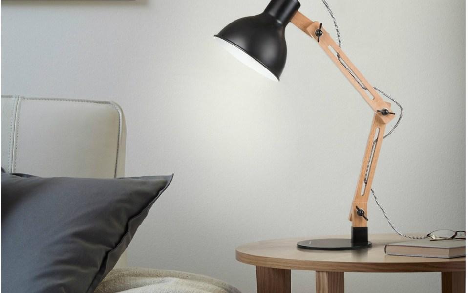 This Scandinavian Desk Lamp Provides Style