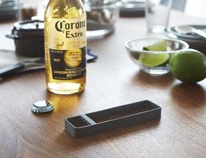 tower bottle opener black