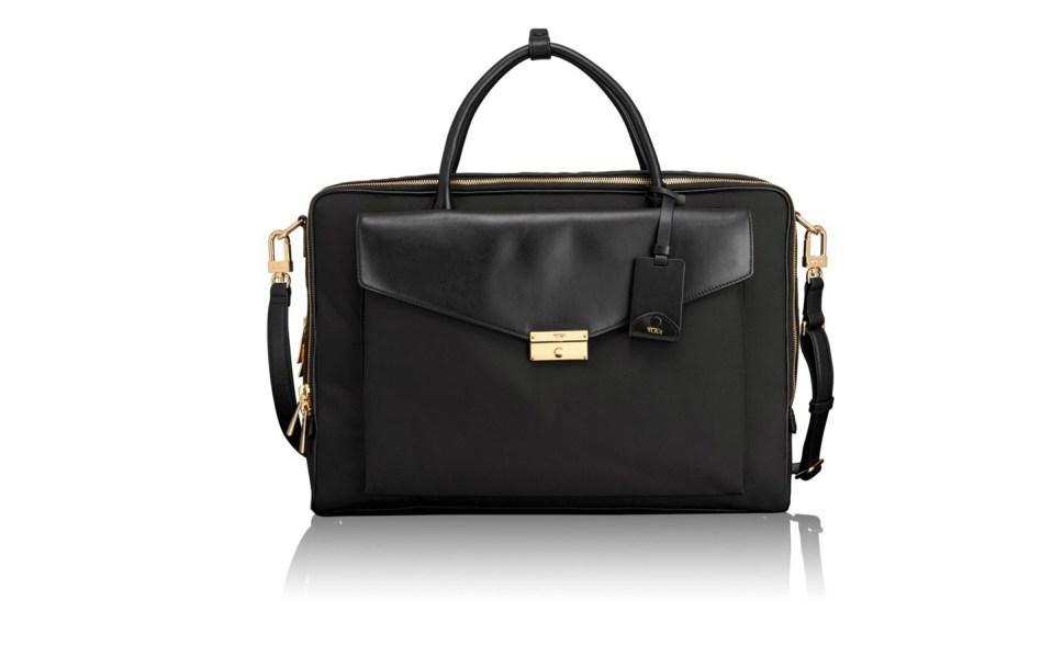 Tumi's Nylon Briefcase is a Modern