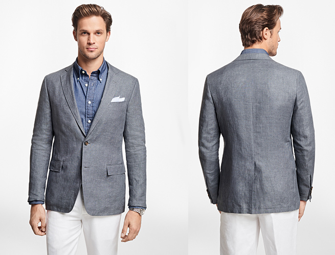 Here's a Lightweight, Slim Fit Linen