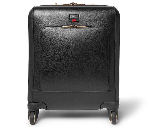 Gucci's Black Leather Carry-On is The