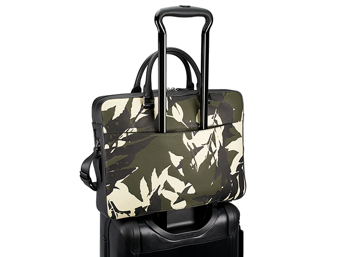 The Jungle Print Bradmoor Slim Briefcase