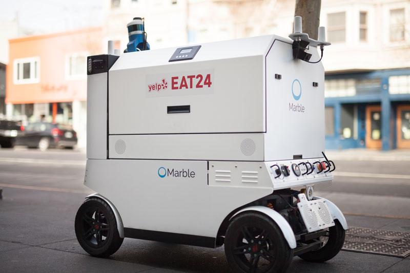 San Francisco Sidewalk Robots