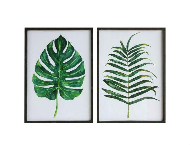 Target Leaf Plaque Wall Art