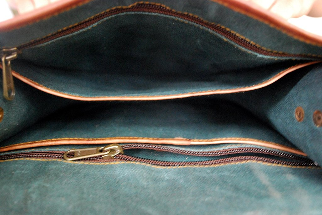 Rustic Town Leather Vintage Crossbody Messenger Courier Bag