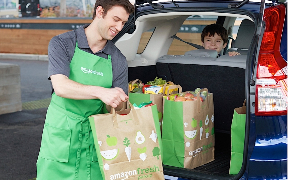 AmazonFresh Pickup Opens Drive Through Grocery