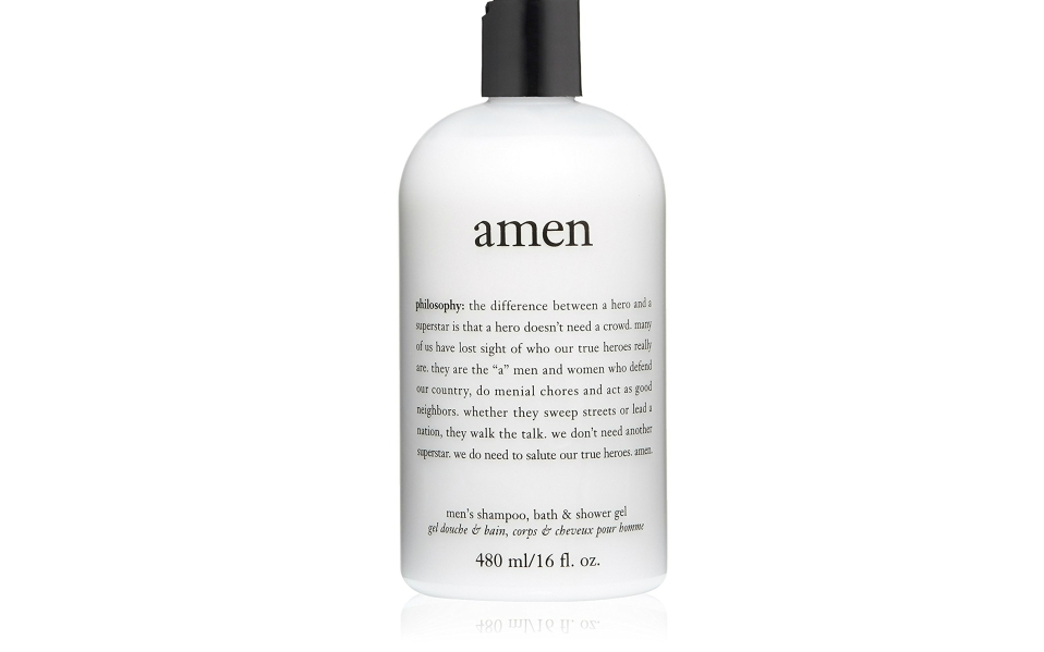 Philosophy's Amen Men's Shower Gel Offers