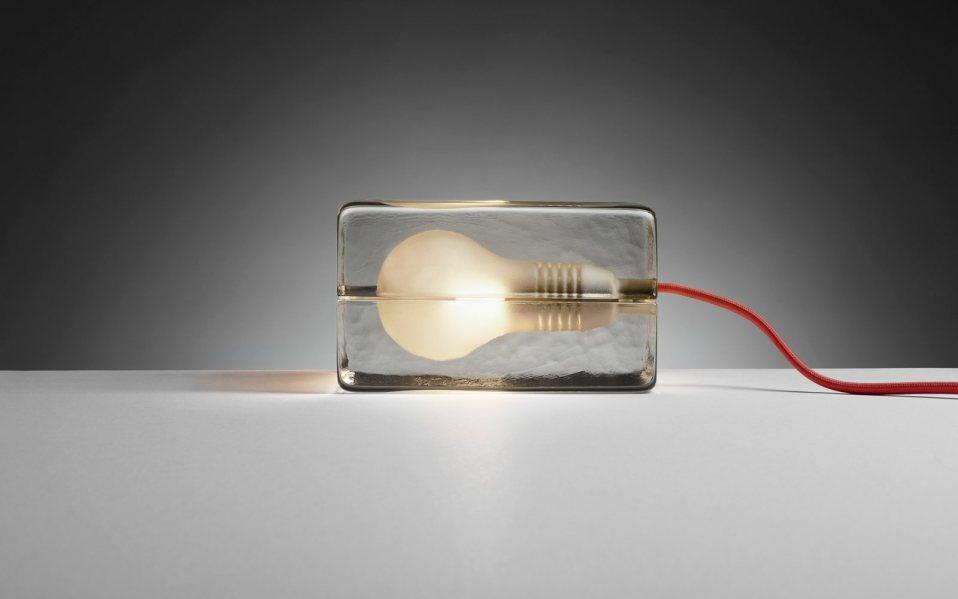 MoMA block lamp