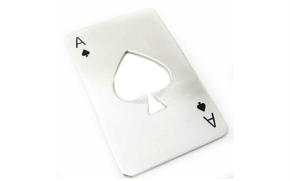 Casino Card Bottle Opener