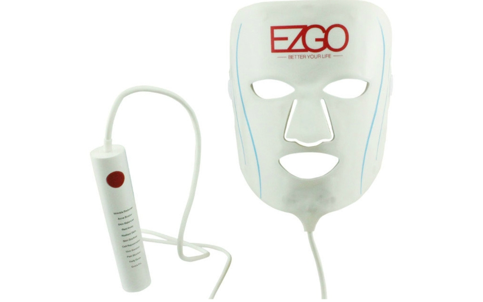 This LED Light Facial Mask Delivers