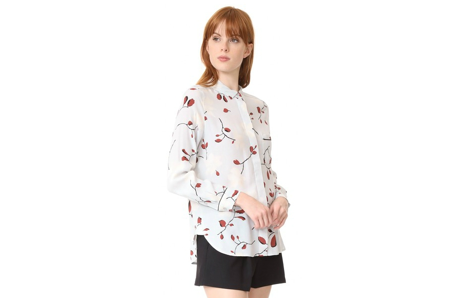 This Ganni Shirt is a Relaxed