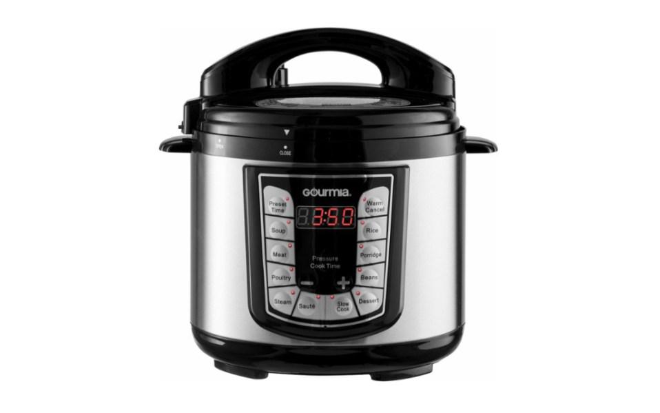 Best Gourmia 4-Quart Pressure Cooker