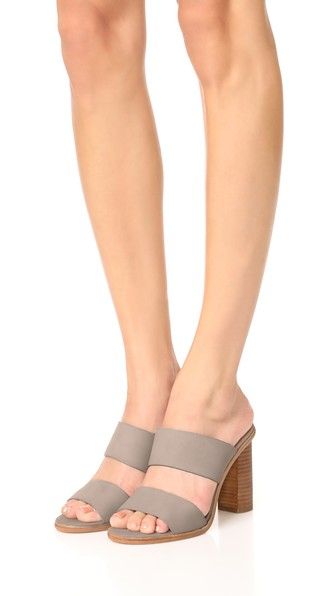 leather heeled sandals joie